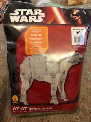 NEW AT-AT Walker Dog Costume Pet Star Wars Halloween Rubies