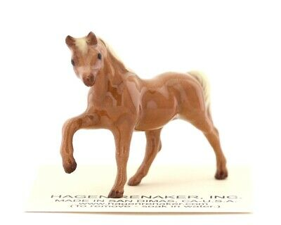 Tiny Chestnut Mare Miniature Horse Model Made in USA by Hagen-Renaker