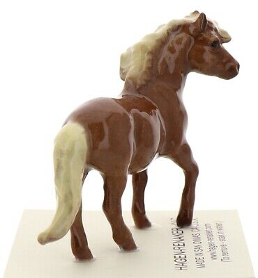 Chestnut Shetland Pony Mare Miniature Horse Made in the USA by Hagen-Renaker