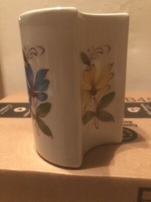 """FTDA Vase made by Secla-Portugal 6"""" Tall Hand Painted Porcelain"""