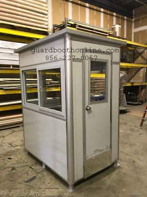 NEW UNASSEMBLED-Security Guard Shack/Guard House/Booth/Ticket Booth-Light Duty