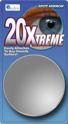 Zadro: 20X Magnification Close Up Spot Mirror 20Xtreme Suction Cup FC20X