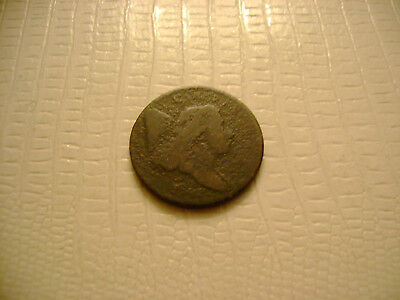 1794 Liberty Cap Half Cent old US coin low mintage 81,600 No Reserve