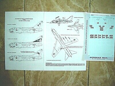 """Microscale decals 1//48  1//72 PS-1-1//64 Parallel Stripes 1//64/"""" wide white   D110"""