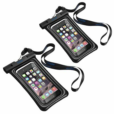 Mpow Floating Swimming Waterproof Underwater Pouch Bag Pack Dry Case for iPhone