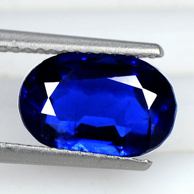 2.67 Cts Natural Top Quality Oval Cut Lovely Gemstone Royal Blue Kyanite Nepal $
