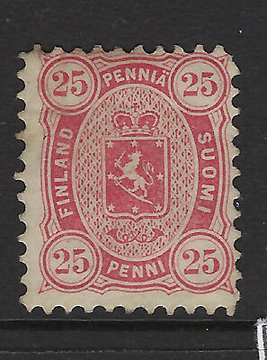 FINLAND :1879 25 penni lake perf 11 SG76 mint