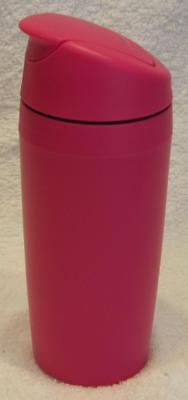 Tupperware Communter Cafe Out Insulated Coffee Mug- Pink - NEW
