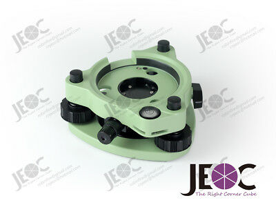 Green Tribrach with Optical Plummet, for Leica Total Station