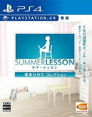Used PS4 Summer lesson: Hikari Miyamoto collection (VR only) Japan Import