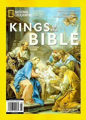 National Geographic Magazine Special Issue Kings of the Bible