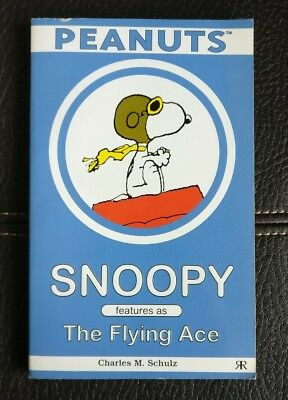 PEANUTS - Snoopy Features as the Flying Ace - Paperback Book - 2000