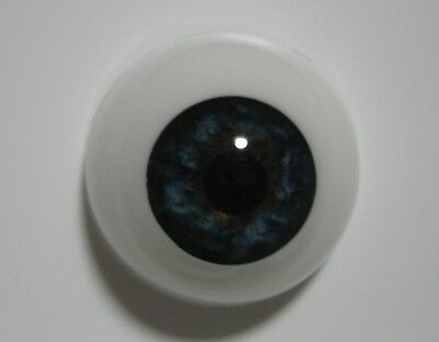 Reborn doll eyes 24mm Half Round  STORMY