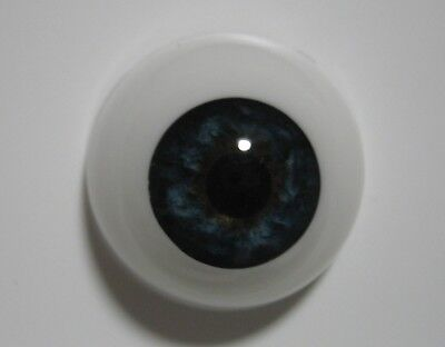 Reborn doll eyes 20mm Half Round  STORMY