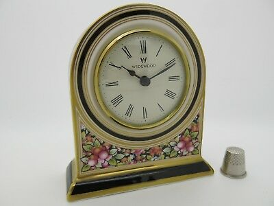 Wedgwood Clio Clock Large Domed Clock - Excellent Condition - Free Gift Box