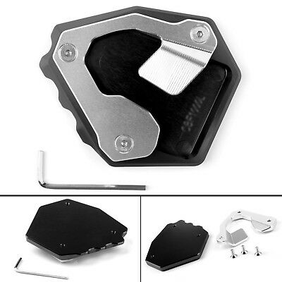Side Pad Kickstand Stand Extension Plate For Honda CRF1000L Africa Twin 16-17 AU