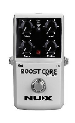 NUX Booster Core Deluxe Guitar Effects Pedal Stompbox Boost True Bypass 3 Boost