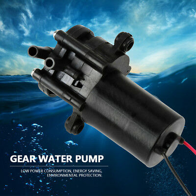 ZC-A210 12V Mini Plastic High Efficiency Self-Sucking Water Pump DC Gear Pump
