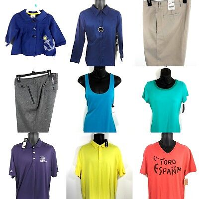 All NWT Lot of 13 High End Brand Clothing Lot Mens, Women's & Baby. MSRP $350+