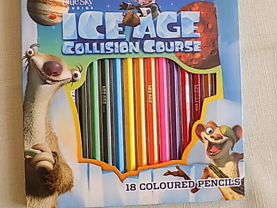 Ice Age Collision Course  Colouring  pencils