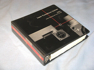 Hewlett Packard HP 5501A Laser Transducer System Operation and Service Manual