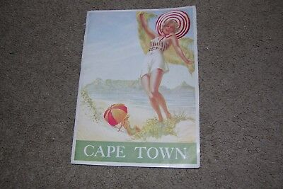 c.1930 Cape Town South Africa Illustrated Brochure