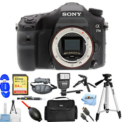 Sony Alpha a77 II DSLR Camera (Body Only) PRO BUNDLE BRAND NEW