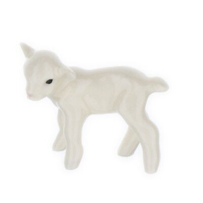White Baby Lamb Miniature Model Farm Animal Figurine USA Made by Hagen-Renaker