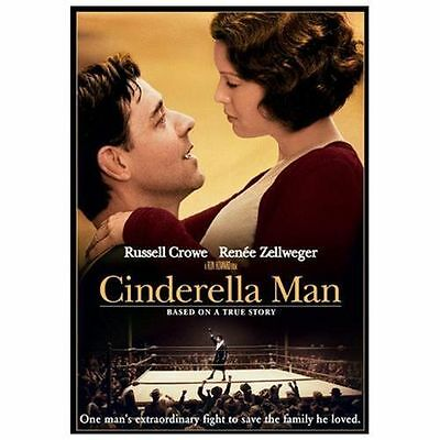 New/Sealed CINDERELLA MAN Widescreen DVD + Bonus Features