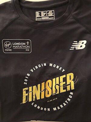 London Marathon 2018 Finisher T Shirt - Medium
