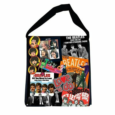 Vandor The Beatles Recycled Messenger Tote