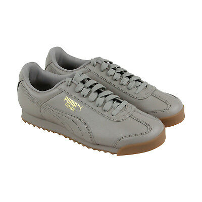 88995ce1f4bc PUMA ROMA CLASSIC Gum Mens Gold Synthetic Lace Up Sneakers Shoes -  28.99