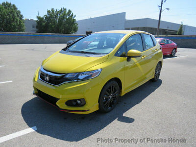 Honda Fit Sport Manual port Manual New 4 dr Sedan Manual Gasoline 1.5L 4 Cyl Helios Yellow Pearl