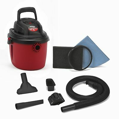 Shop-Vac 2036000 2.5-Gallon 2.5 Peak HP Wet Dry Shopvac Vacuum, Red/Black - NEW!