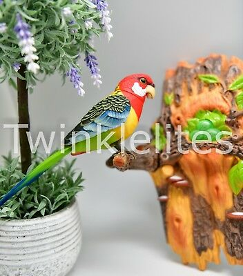 Singing Bird Chirping Dancing Realistic Ornament Sound Sensor Pajaro Cantando