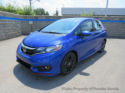 Honda Fit Sport Manual port Manual New 4 dr Sedan Manual Gasoline 1.5L 4 Cyl Aegean Blue Metallic