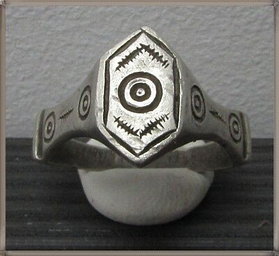 **IRON AGE** Ancient Legionary Silver CELTIC Ring 800–450 BC