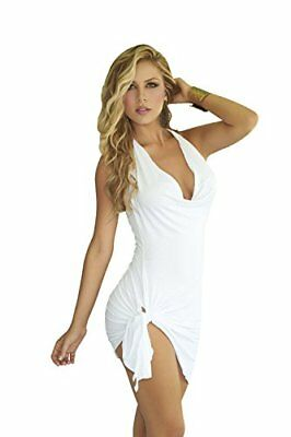 (TG. XL)  AM PM In Espiral 4797 Dress di colore bianco taglia XL