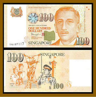 Singapore 100 Dollars, P-50g 2016 (Youth, 2 Stars) Uncirculated