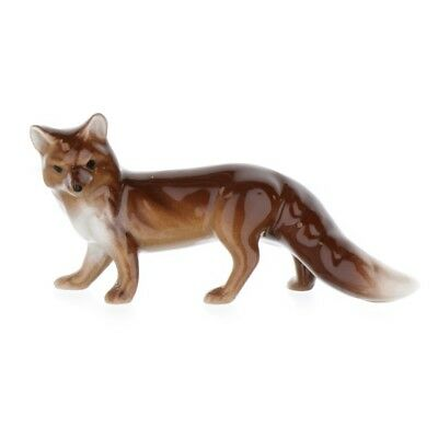 Mama Fox Miniature Figurine Wildlife Model Made in USA by Hagen-Renaker