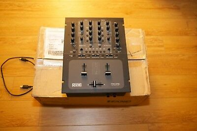 Rane TTM 57SL 2-Channel Performance DJ Mixer Scratch Live