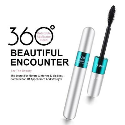 Beauty Double Head Waterproof Long Lasting Curling Thick No Blooming 3D Mascara