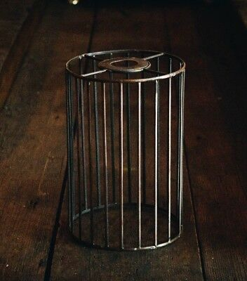 Copper style wire lamp shadeholderindusrialrusticcageholder copper style wire lamp shadeholderindusrialrusticcageholder greentooth