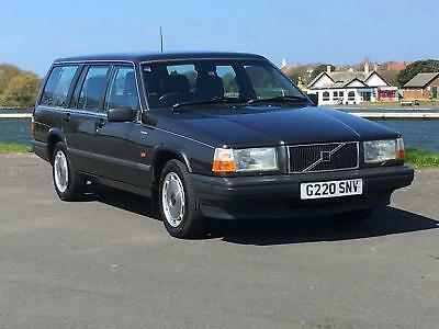 1990 Classic Volvo 740 Gle Auto Estate Grey Just 74,000 Genuine Miles From New