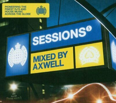Various - VARIOUS/ SESSIONS  AXWELL - Various CD 5YVG The Fast Free Shipping