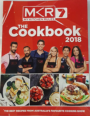 My Kitchen Rules MKR The Best Recipes Cookbook 2018 EDITION -  BRAND NEW