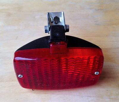 Vintage Old School NOS Starlux Bumper Mount Rear Fog Light Fiat Spider 124
