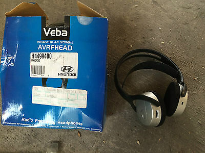 Hyundai Headphones IR - Veba - Genuine Hyundai - Radio Frequency