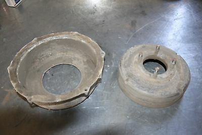 1997 Suzuki King Quad Kingquad 300 Rear Back Brake Drum dust cover A513