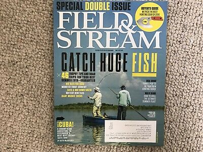 Field & Stream Magazine - June - July 2016